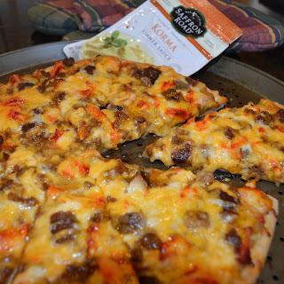 Meat Lovers Korma Pizza