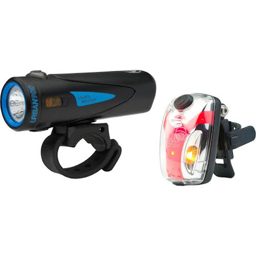 Light and Motion Urban 900 Longfin Vis Micro II Combo Set