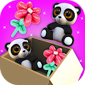 Match toy 3D | lol surprise, fill up organize box icon
