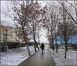 Photo: Turda - Calea Victoriei, alee pietonala - 2018.02.24