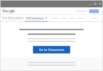 Click Go to Classroom