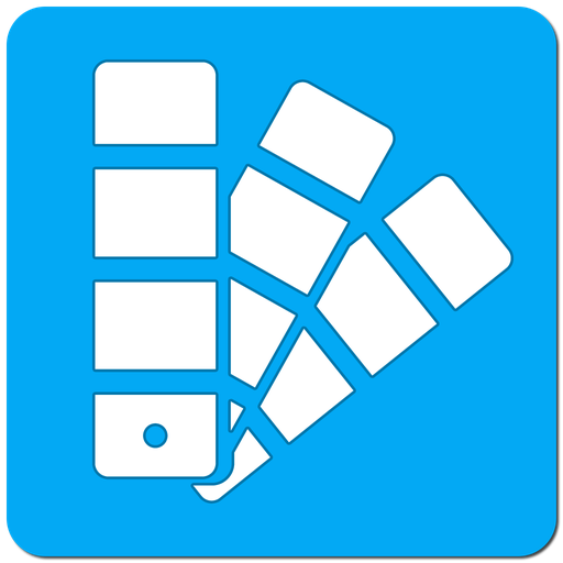 色のリスト。塗料のカタログ 書籍 App LOGO-硬是要APP
