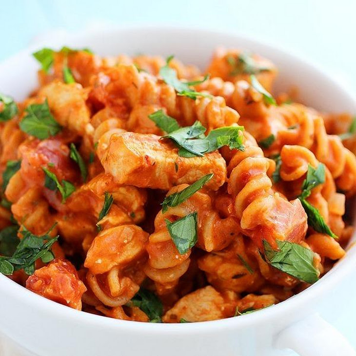 Creamy Italian Chicken & Pasta Skillet Recipe