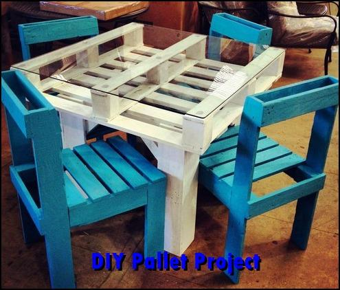 100+ DIY Pallet Projects