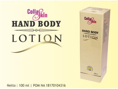 Collagen Body Lotion NASA melembabkan memutihkan kulit mengencangkan payudara
