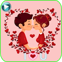 💞WAStickerApp Animated Love Stickers for WhatsApp icon