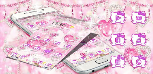 Kitten Pink Diamonds Sweet Princess Theme Apps On Google Play