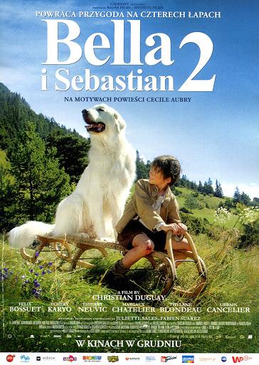 Przód ulotki filmu 'Bella i Sebastian 2'