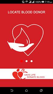 Blood Donor App screenshot