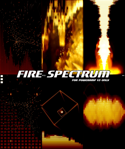 FIRE POWERAMP VISUALIZATION screenshots 1