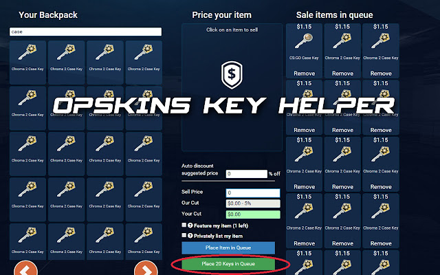 opskins quick key seller chrome web store