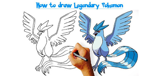 Cómo Dibujar Pokémon Legendario Apps En Google Play