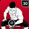 Gym Workout Free - 30 Days Gym Trainer icon