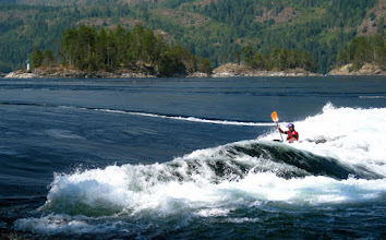Photo: The Skookumchuck Rapids are found near the mouth of the Sechelt Inlet and are one of the fastest moving tidal waters in the world. My Grandpa was born and grew up in the nearby town of Egmont and can tell many a story about these waters. Nowadays people come from all around to white water kayak or surf the waves. Or to watch the kayakers surfing ;)