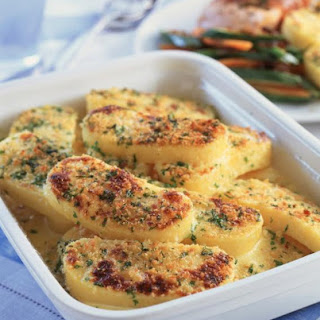 Herb and Cheese Polenta