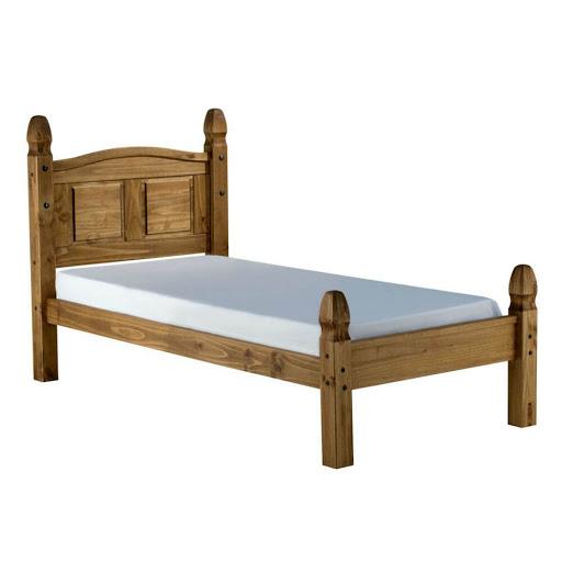 Birlea Corona Low End Pine Bed Frame Double