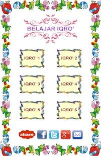 Belajar Iqro dengan Audio- screenshot thumbnail