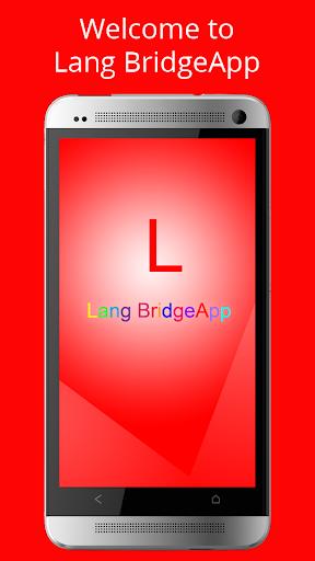 Lang BridgeApp