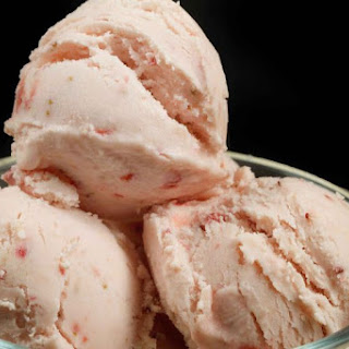 Strawberry Ricotta Gelato