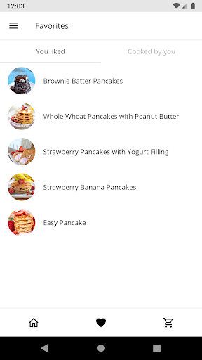 Code Triche Pancake Recipes APK MOD (Astuce) screenshots 4