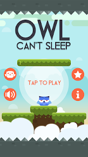 Owl Can't Sleep! Screenshot
