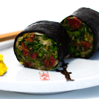 Raw Organic Veggie Rolls