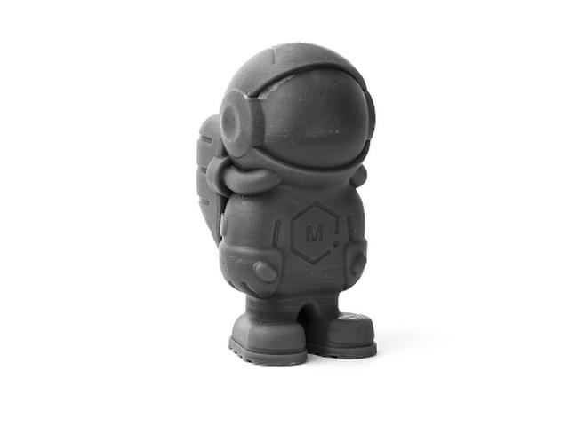 Peopoly Moai Model Resin - Grey (1L) | MatterHackers