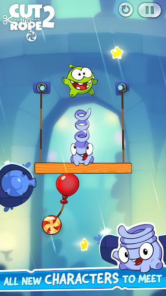 Cut the Rope 2 v1.8.2 (Mod Money/Power-Ups)
