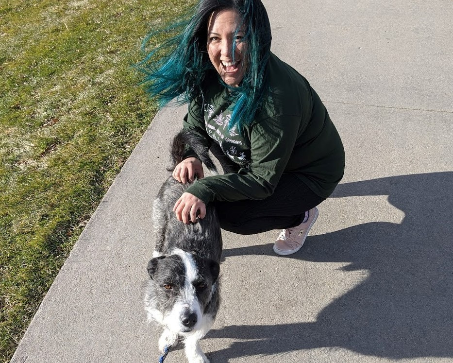 Kat Salcedo, co-owner and trainer at Padfoot Pet Services