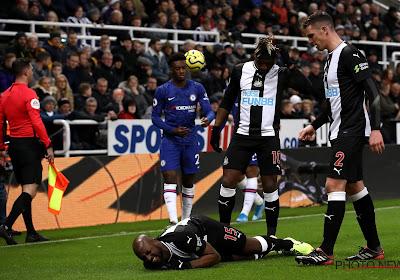 Jetro Willems viel uit met een kruisbandblessure bij Newcastle United