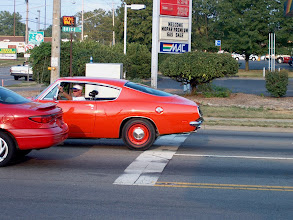 Photo: Tom Anthony living the dream on Brice Road at the Mopar Nationals