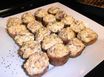 Baked Baby Red Stuffed Potatoes