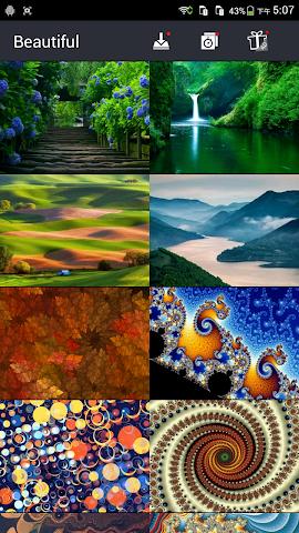 android Really Beautiful Wallpapers Screenshot 4
