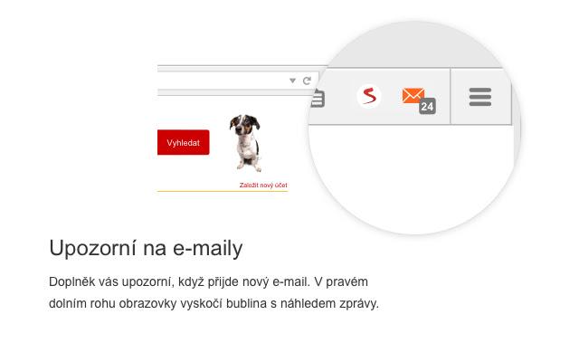 Seznam doplněk - Email