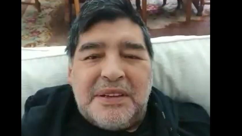 Diego Armando Maradona ha mandado un mensaje a Turki Al-Sheikh.
