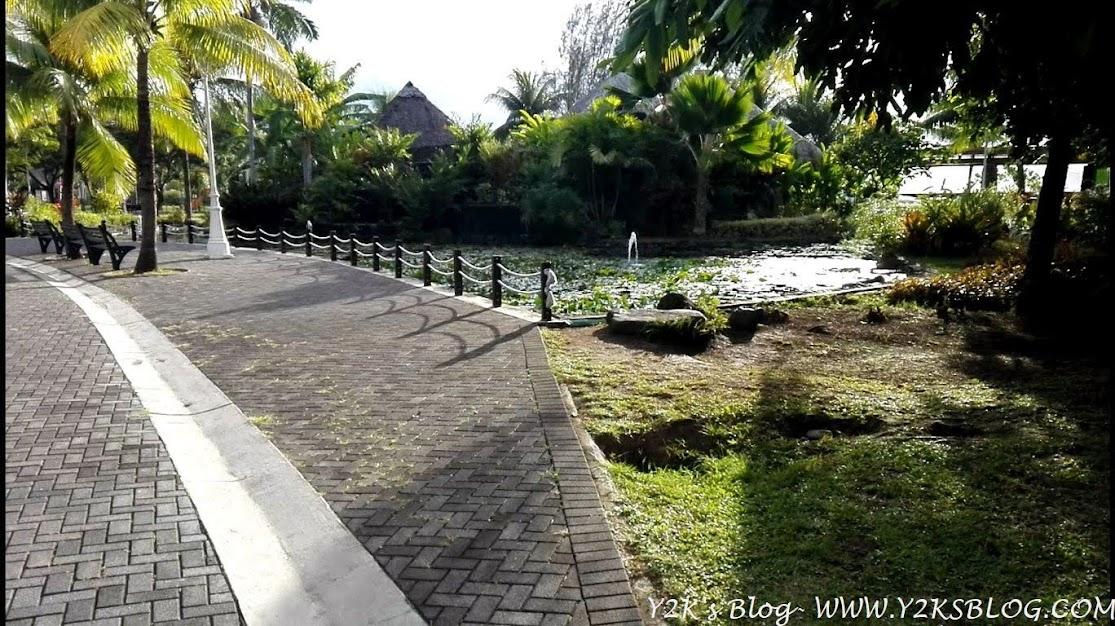 Il parco Paofai di Papeete - Tahiti