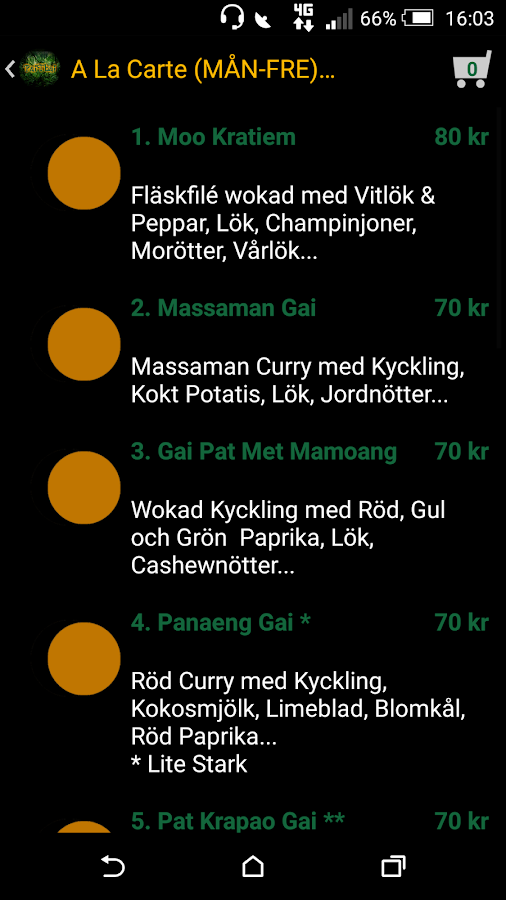 Pai Thai- screenshot