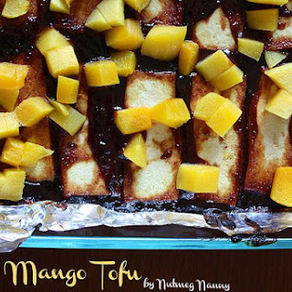 BBQ Mango Tofu.