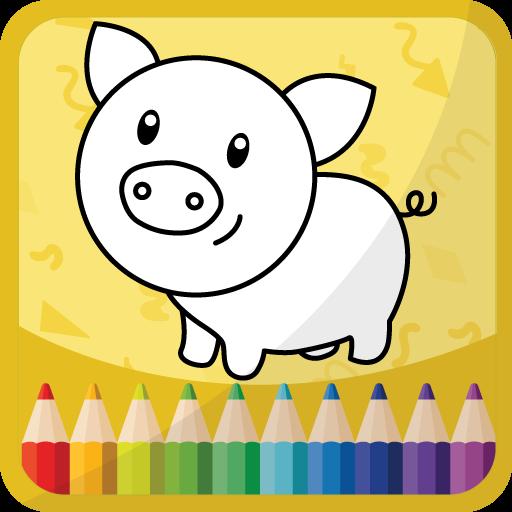 キッズ 着色本 教育 App LOGO-硬是要APP