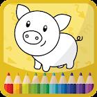 Niños Libro de colorear icon