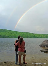 Photo: Rainbow at Ricker Pond State Park