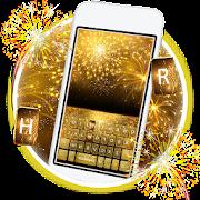 App Gold 2018 New Year Keyboard Theme APK for Windows Phone