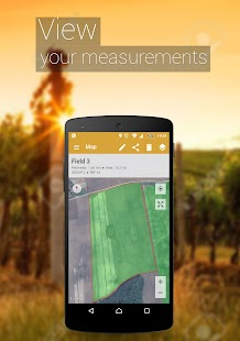 GPS Fields Area Measure Screenshot