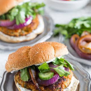 Chicken Tandoori Burger.