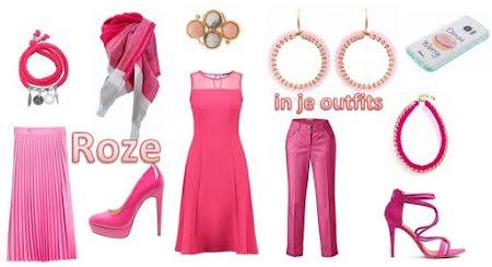 Roze !  Wat vertelt deze kleur?
