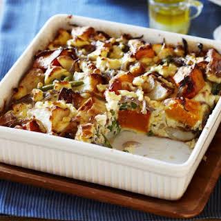 Roast Potato and Squash Frittata.