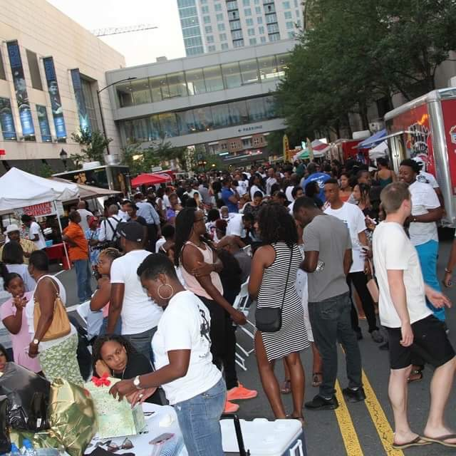 Picture from Black Food Truck Thursday 2018