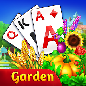 Solitaire Garden TriPeaks Story 1.3.0 by Casual Candy Match logo