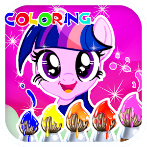 Download Coloring Book For Little Pony For PC