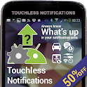 Touchless Notifications Pro - SALE 50% OFF icon